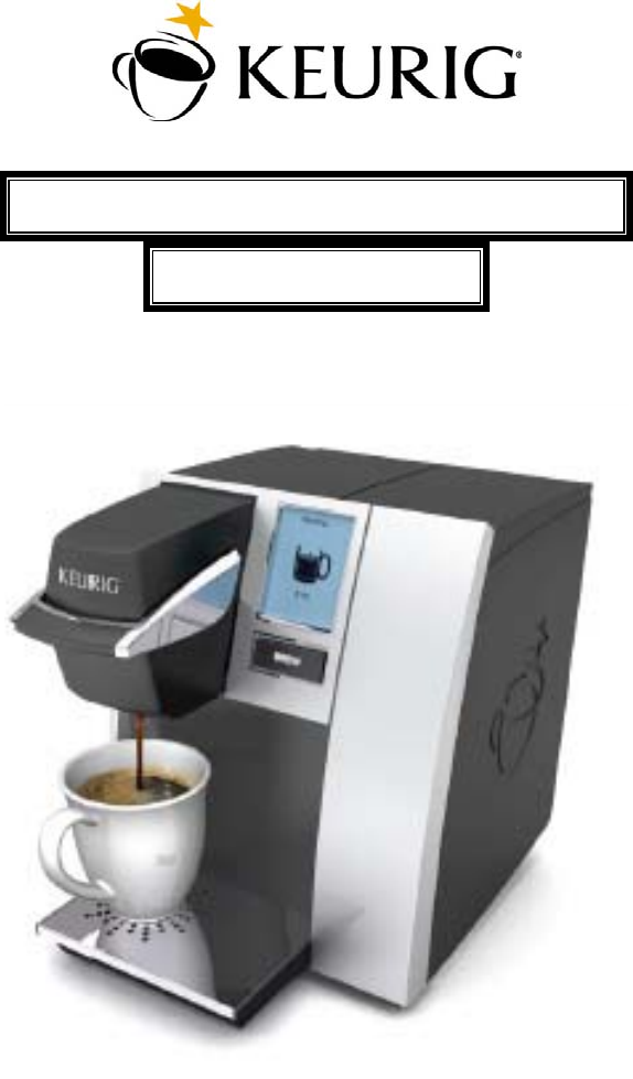 Keurig Coffee Maker Instructions : Keurig b150 manual