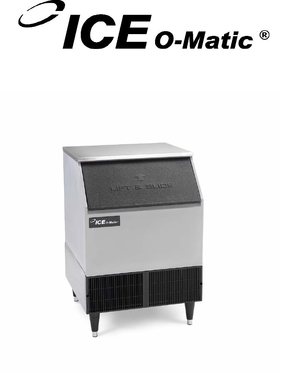 ice o matic ice maker iceu200 user guide manualsonline com service parts manual ice undercounter series cubers