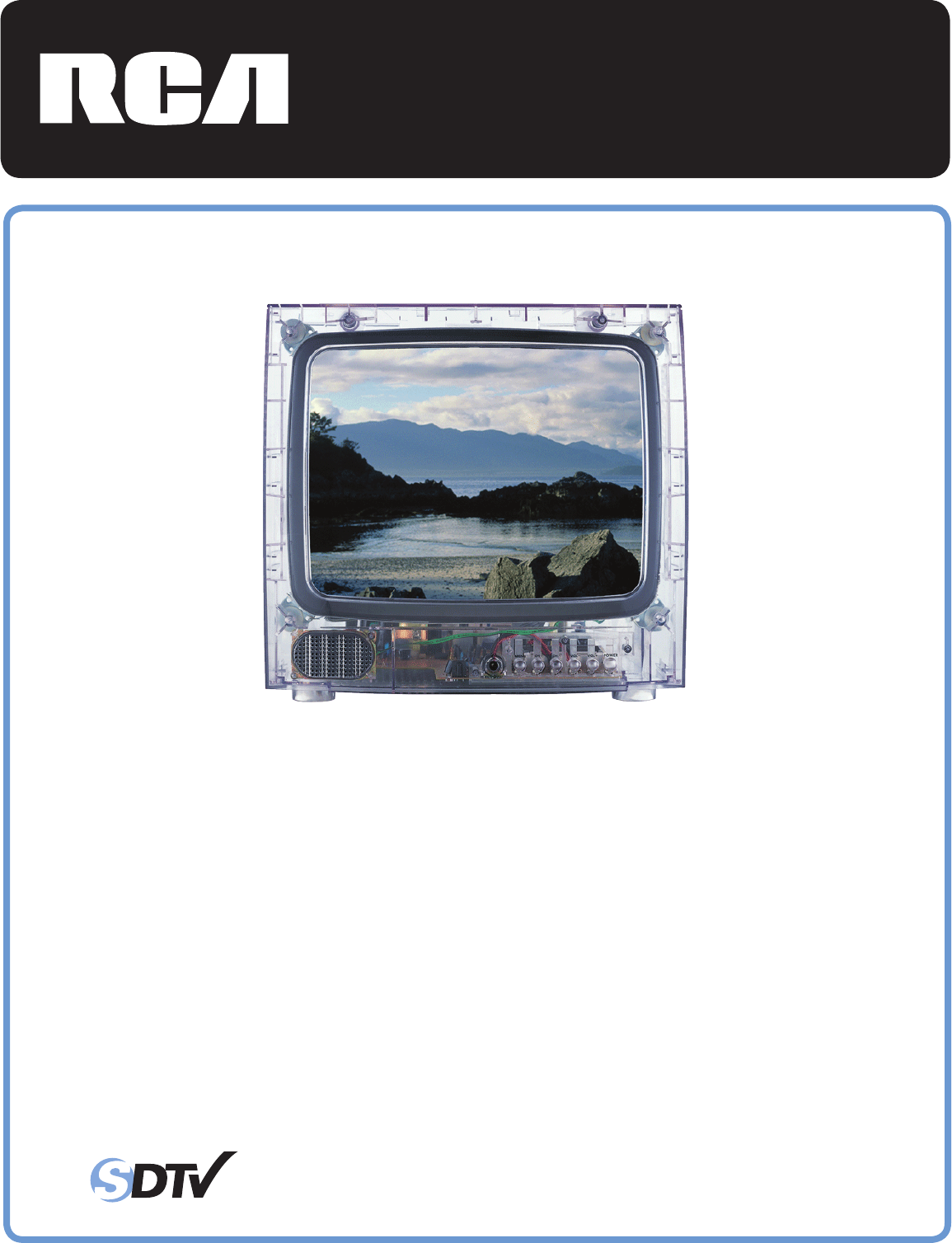 rca crt television j13805cl user guide manualsonline com rh tv manualsonline com RCA TruFlat Problems 32 in RCA TruFlat SDTV