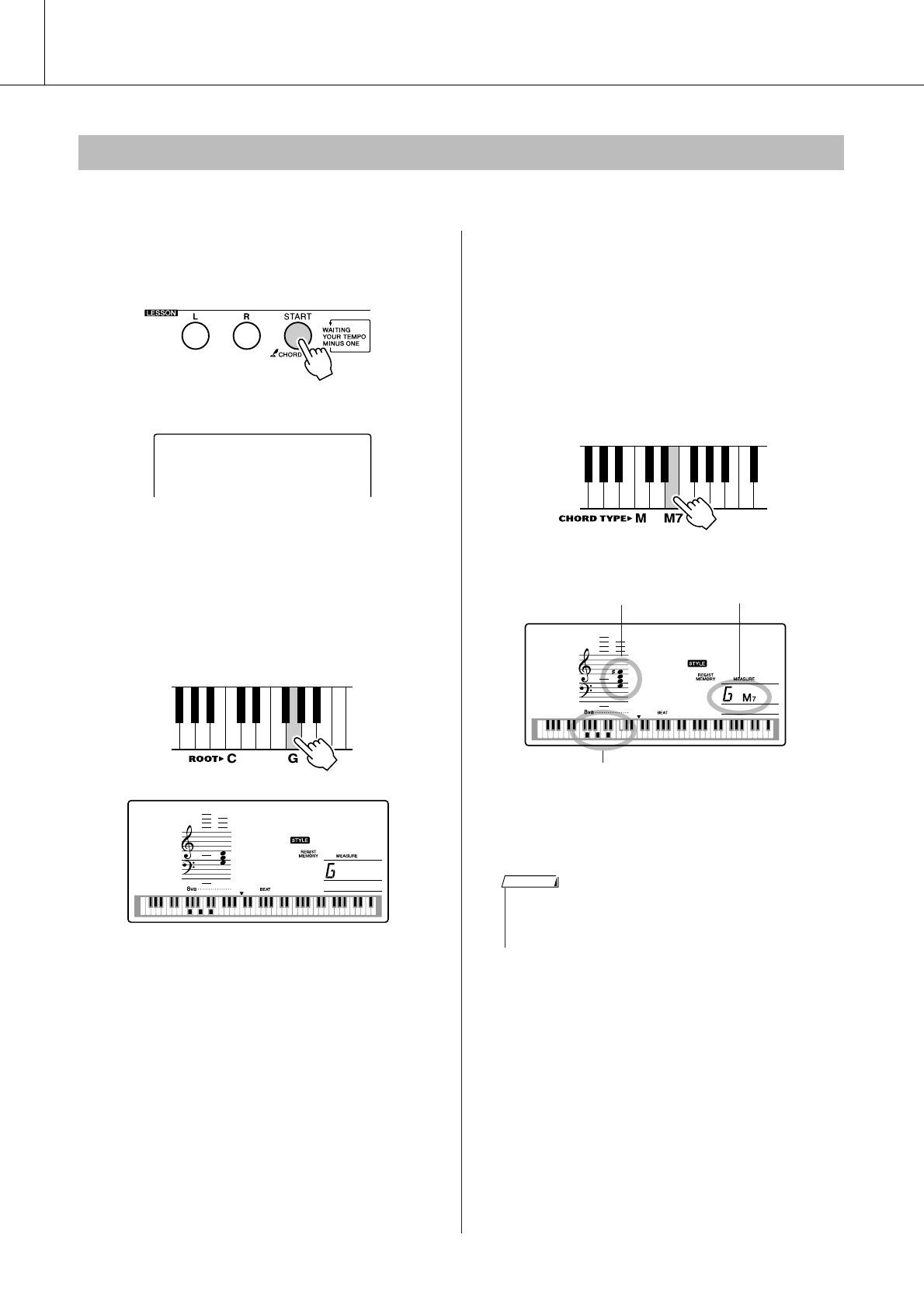 Page 70 of yamaha musical toy instrument ypg 235 user for Yamaha ypg 235 manual