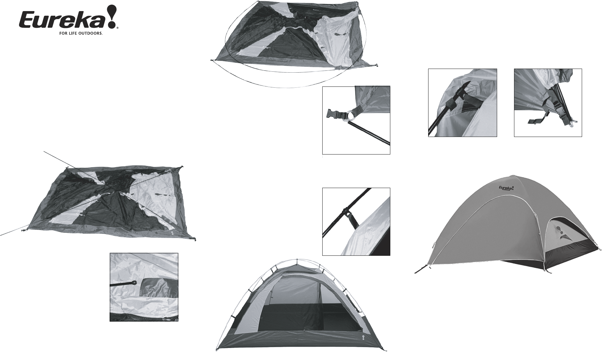 Eureka! Tents Dominion Tent User Manual  sc 1 st  Fitness u0026 Sports - ManualsOnline.com & Eureka! Tents Tent Dominion User Guide | ManualsOnline.com