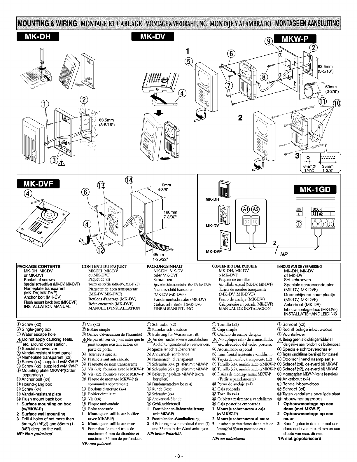 page 3 of aiphone home security system mk dv user guide rh homeappliance manualsonline com