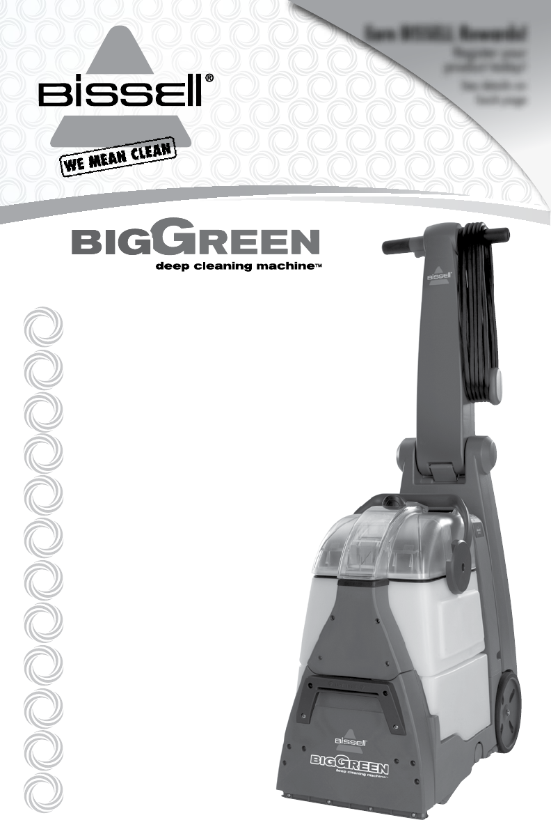 bissell deep clean premier manual pdf