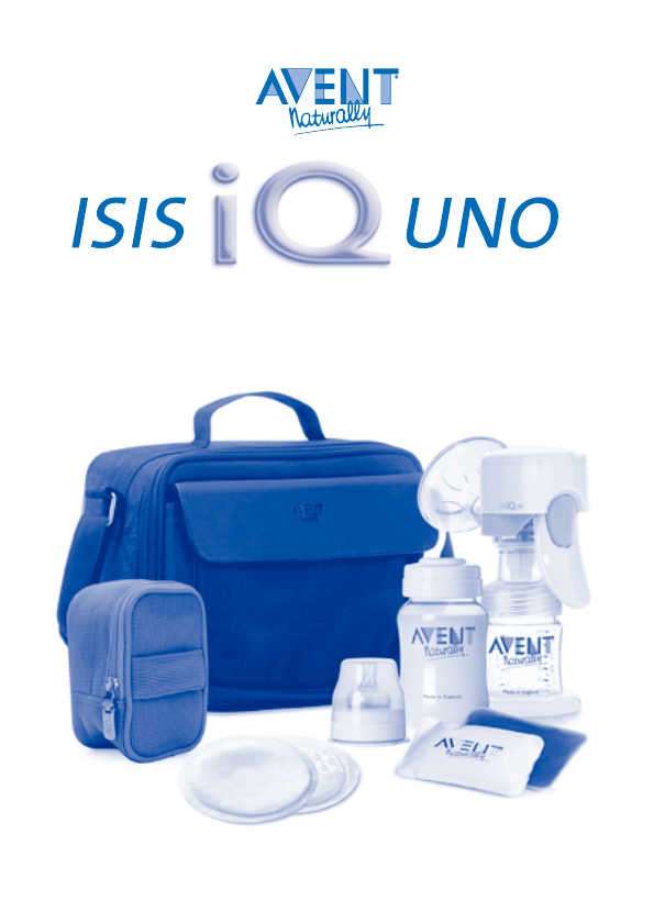Avent Breast Pump Isis Iq Uno User Guide Manualsonline