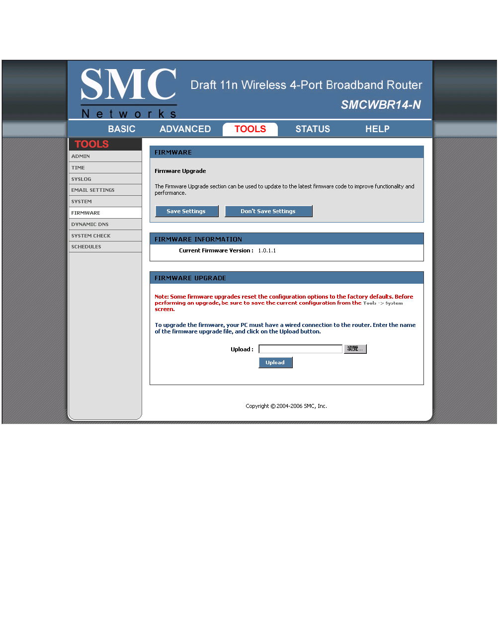 Routersetup smc:: smcwbr14-n2.