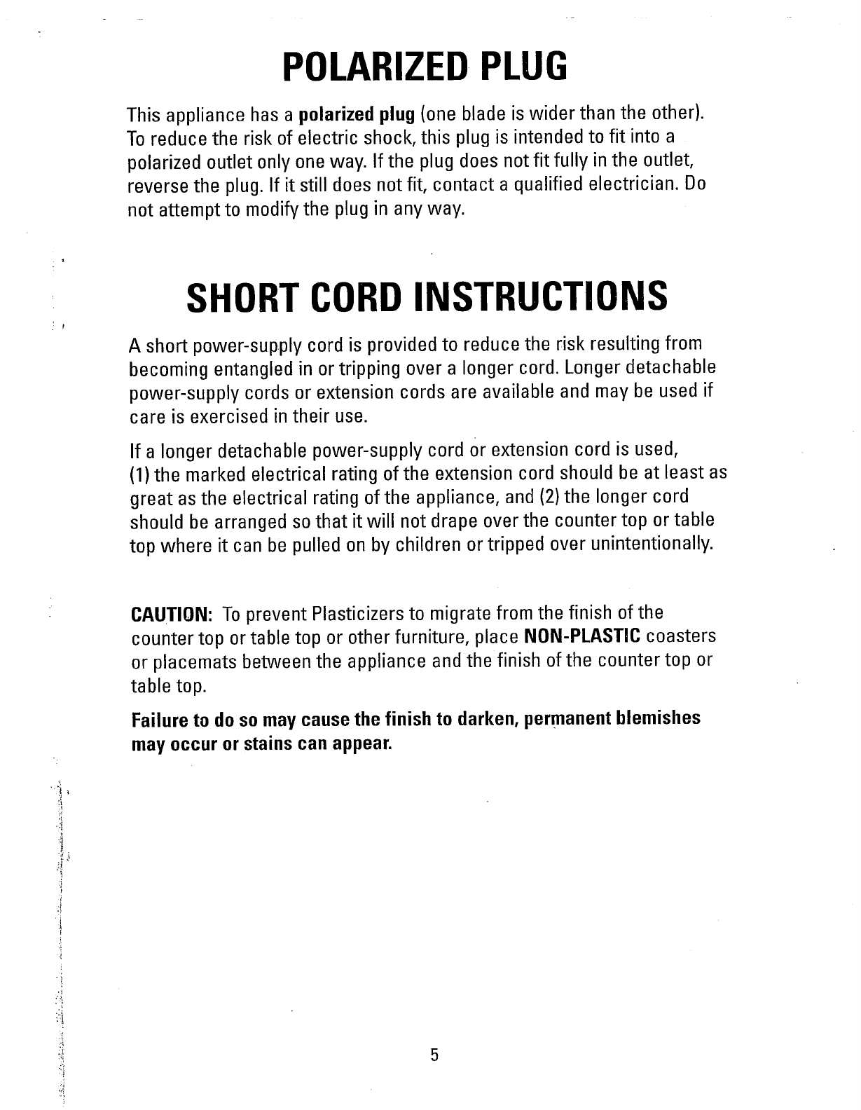 Page 5 Of George Foreman Kitchen Grill Gr36vtt User Guide