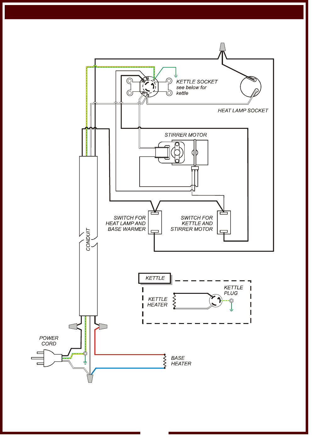 Page 12 Of Wells Popcorn Poppers Wpp 6 10 User Guide Machine Switch Wiring Diagram For 3