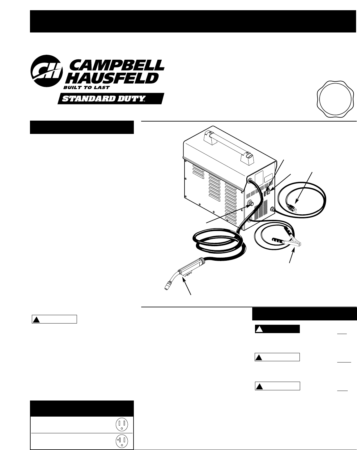 Campbell Hausfeld Welder Wf2010 User Guide Manualsonline Com Campbell  Hausfeld Mig Welder 140 Campbell Hausfeld Wire Feed Welder Diagram