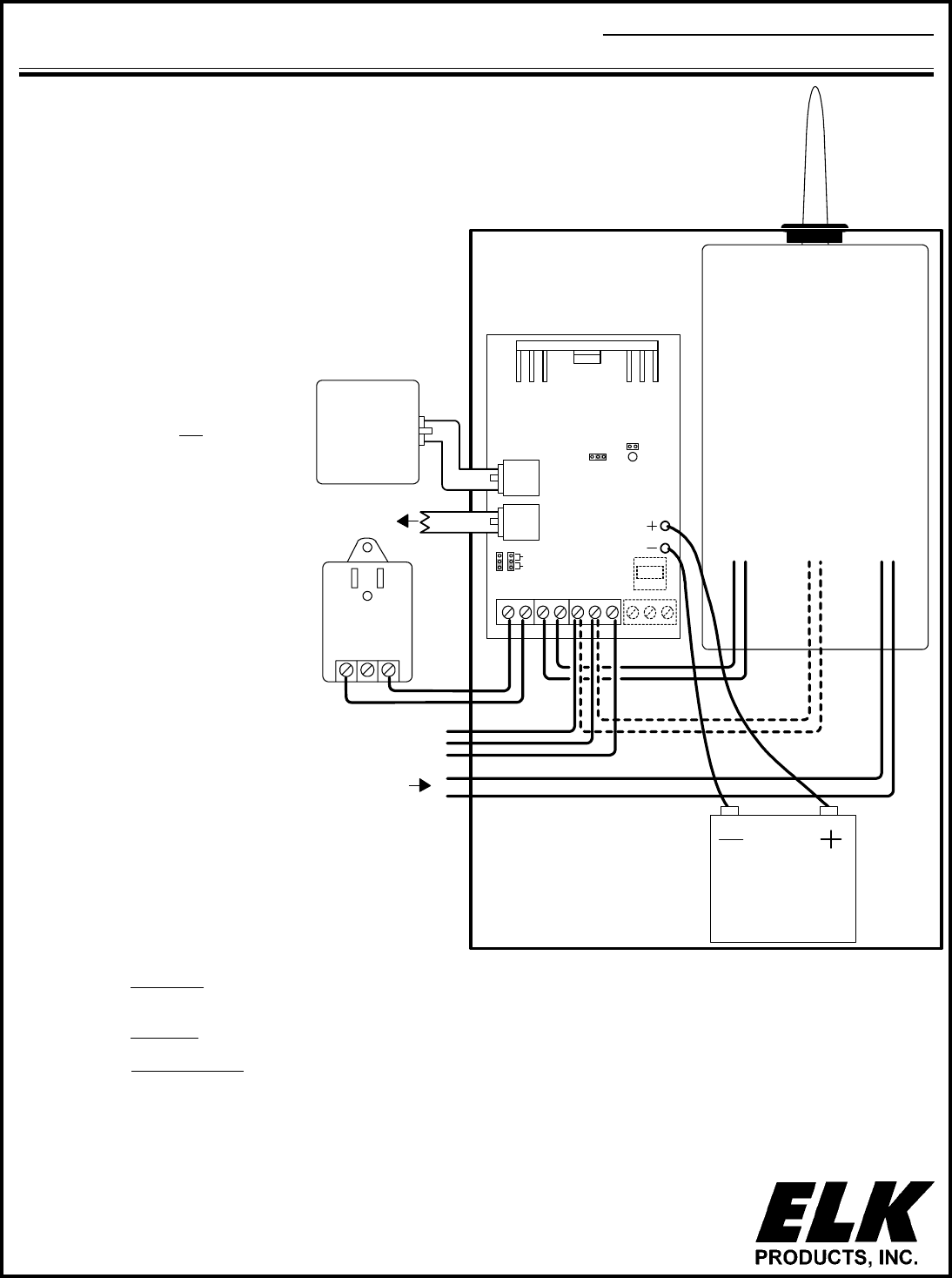 elk products elk 981 home security system user manual Schematics for Surveillance System p o box 100 hildebran nc 28637 usa 828 397 4200 828 397 4415 fax