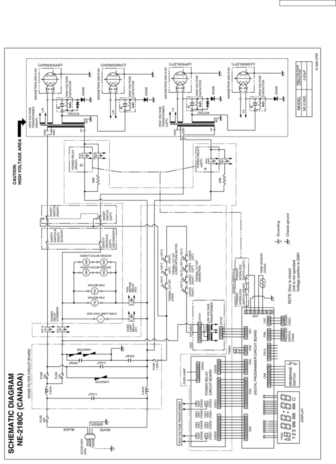 rca oven schematic free wiring diagram images