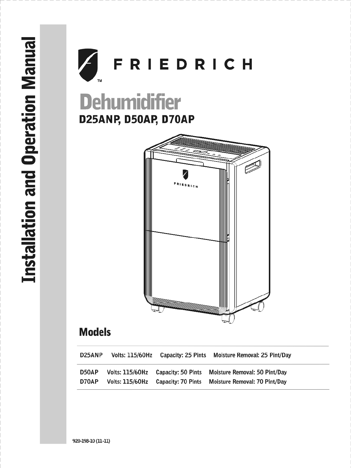 Friedrich Furnace Manual Air Conditioners Wiring Diagram Conditioner Troubleshooting Series Installation