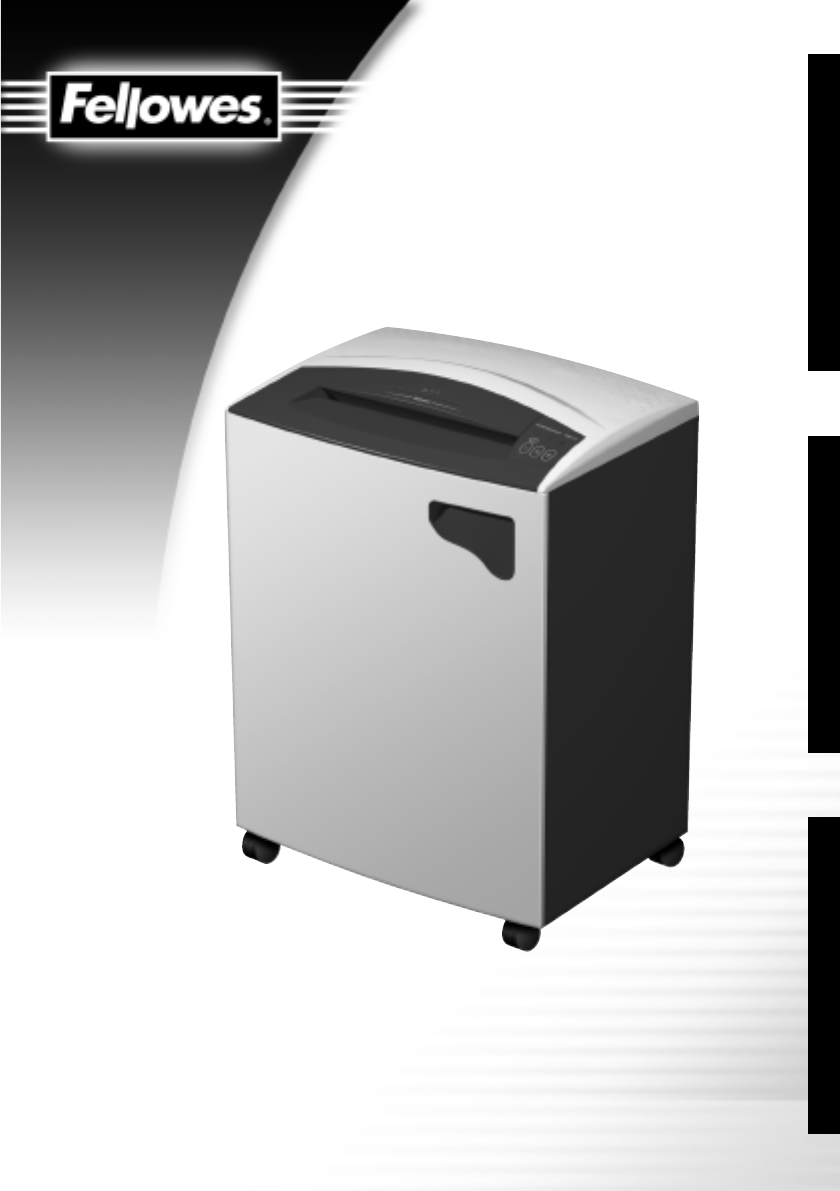 fellowes m 6c shredder manual