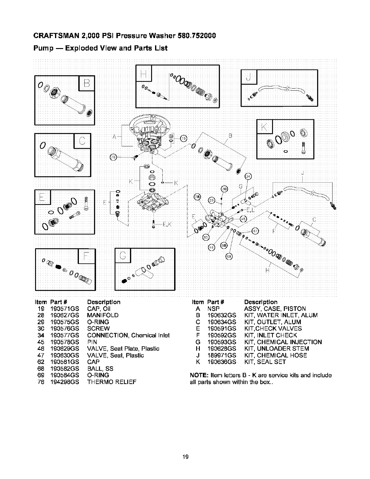 [ZHKZ_3066]  Page 19 of Craftsman Pressure Washer 580.752 User Guide   ManualsOnline.com   Wiring Diagram For Craftsman Pressure Washer      Lawn and Garden Manuals - ManualsOnline.com