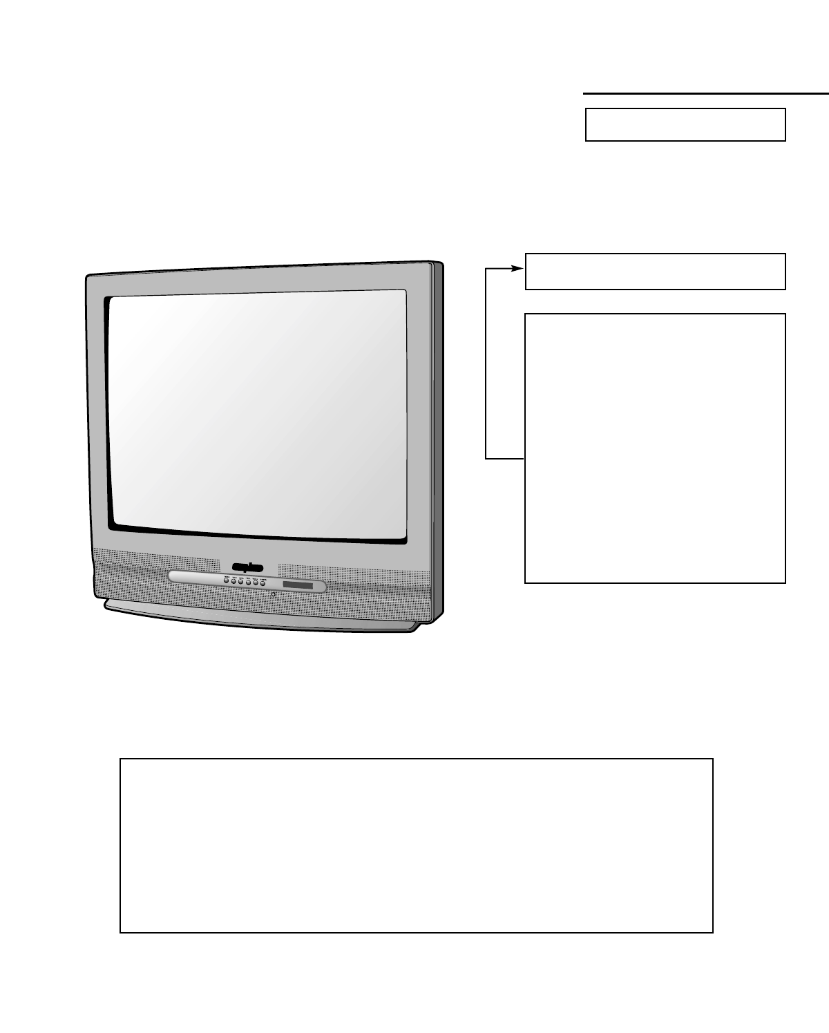 Sanyo CRT Television DS27820-02 User Guide | ManualsOnline com
