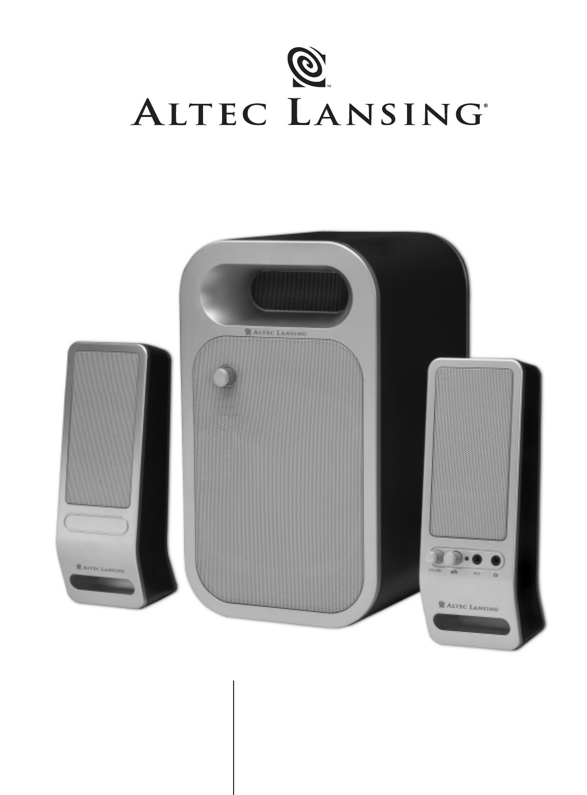 altec lansing portable speaker vs232 user guide manualsonline com rh portablemedia manualsonline com Altec Lansing A7 Altec Lansing Speakers