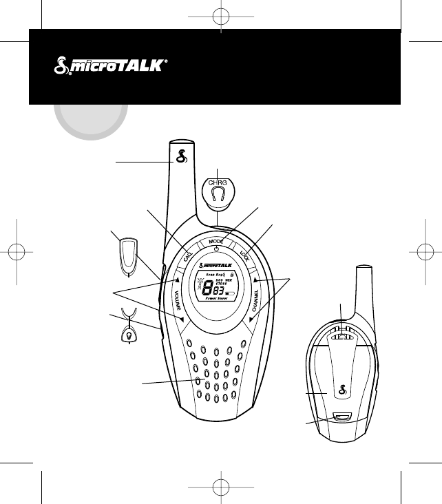 Cobra Electronics Two Way Radio Mt 600 User Guide