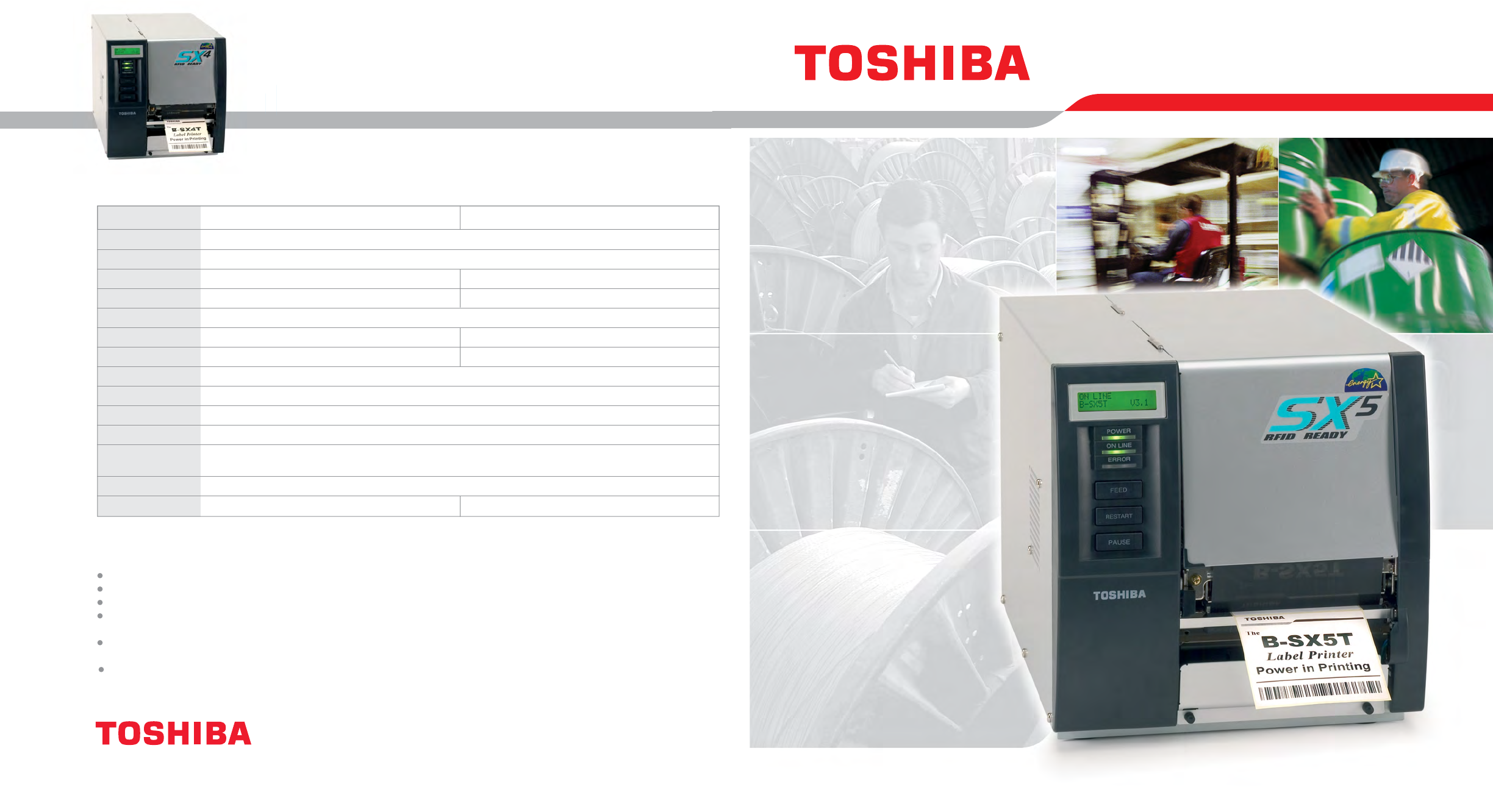 toshiba printer b sx4 user guide manualsonline com rh office manualsonline com toshiba tec b-sx5 driver Toshiba Label Printers