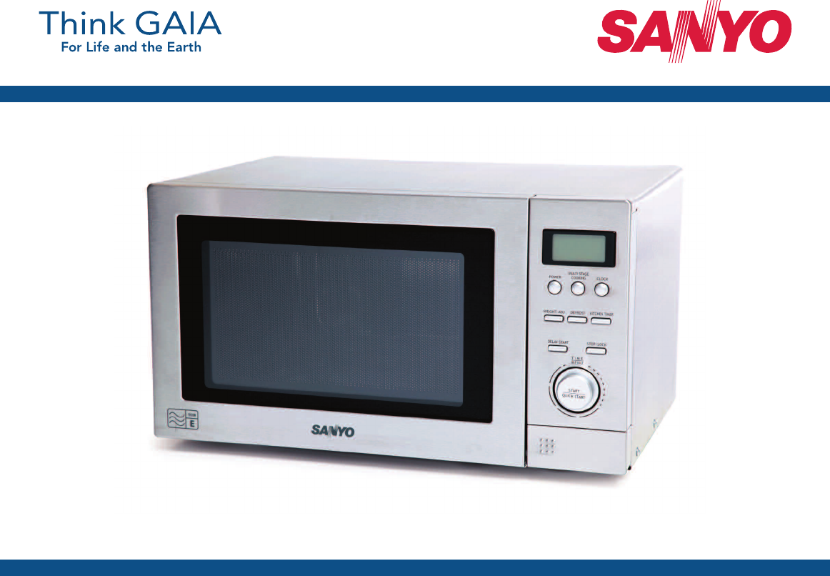 Sanyo Em Sl40s Microwave Oven User Manual