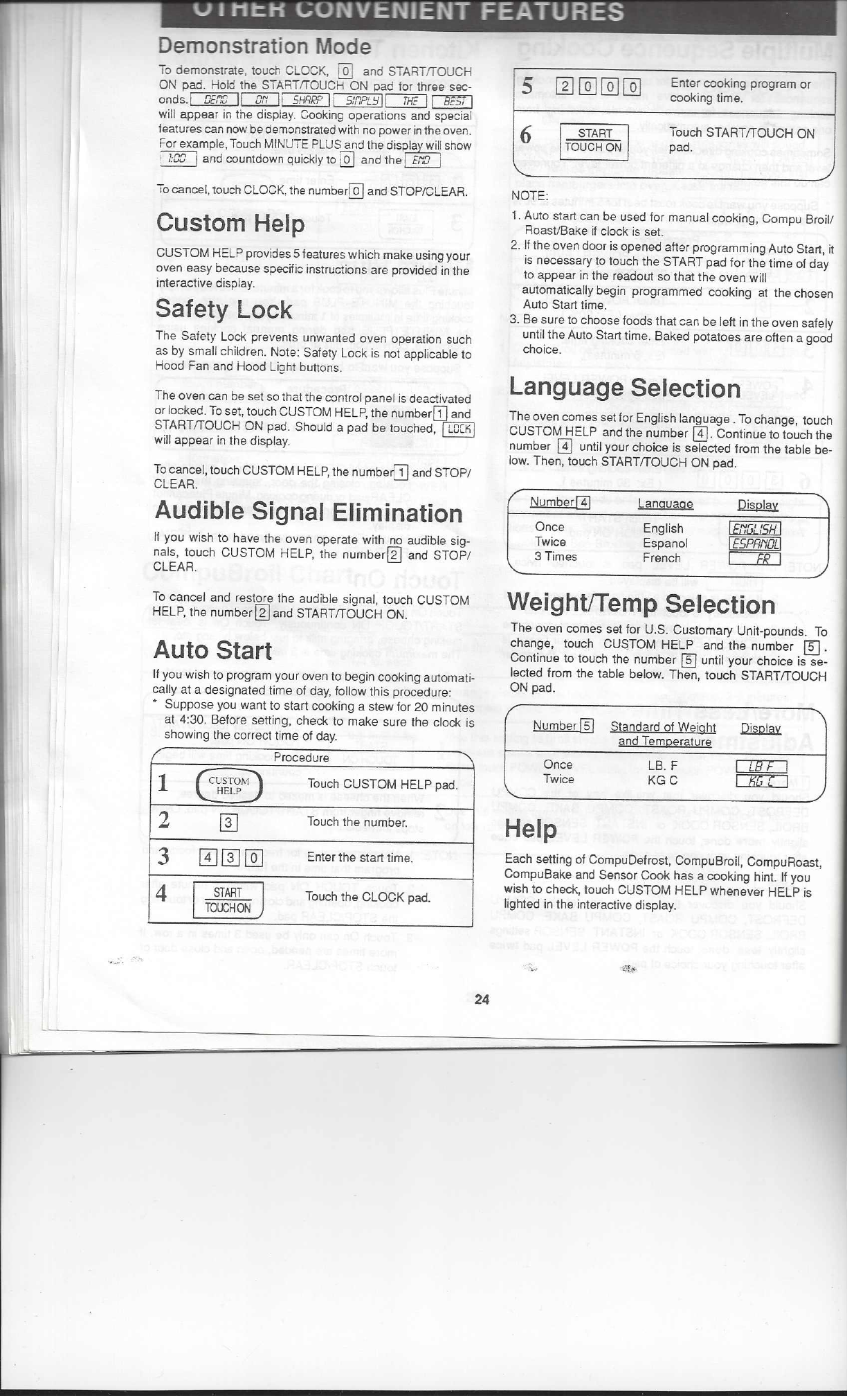 page 24 of sharp microwave oven r 1850a user guide manualsonline com rh kitchen manualsonline com