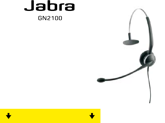 Jabra Bluetooth Headset Gn2100 User Guide Manualsonline Com