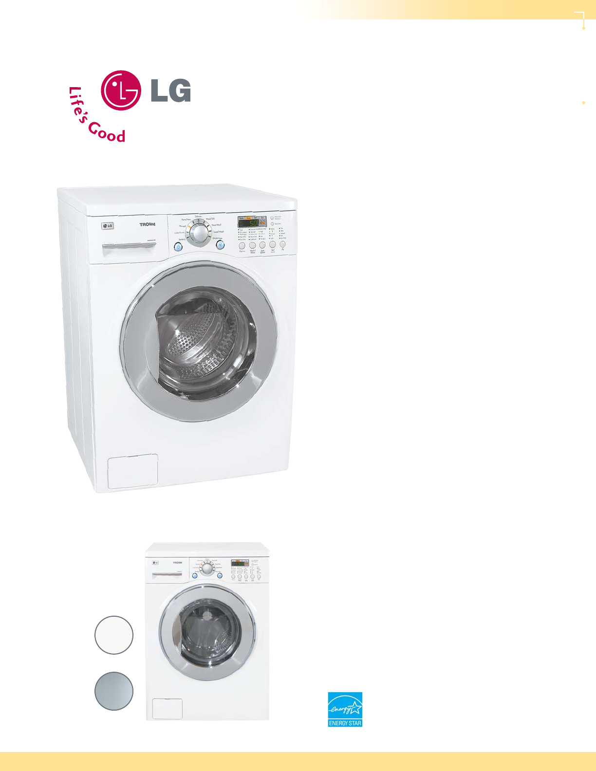 lg electronics washer dryer wm3431hs user guide manualsonline com rh laundry manualsonline com LG Tromm Washer Manual LG Washing Machine ManualsOnline