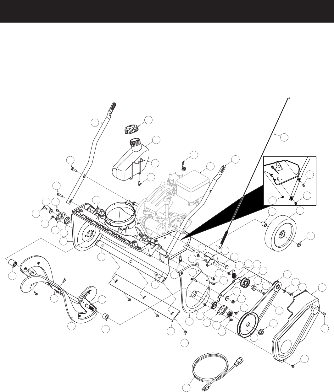 page 2 of craftsman snow blower 247 8878 user guide