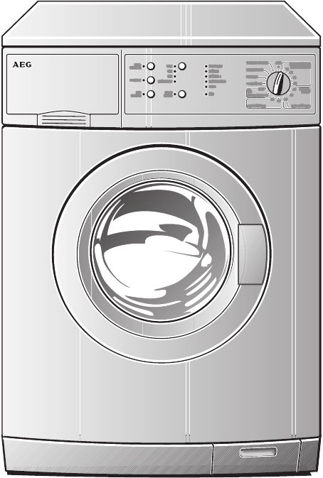 Electrolux Washer W 1250 User Guide