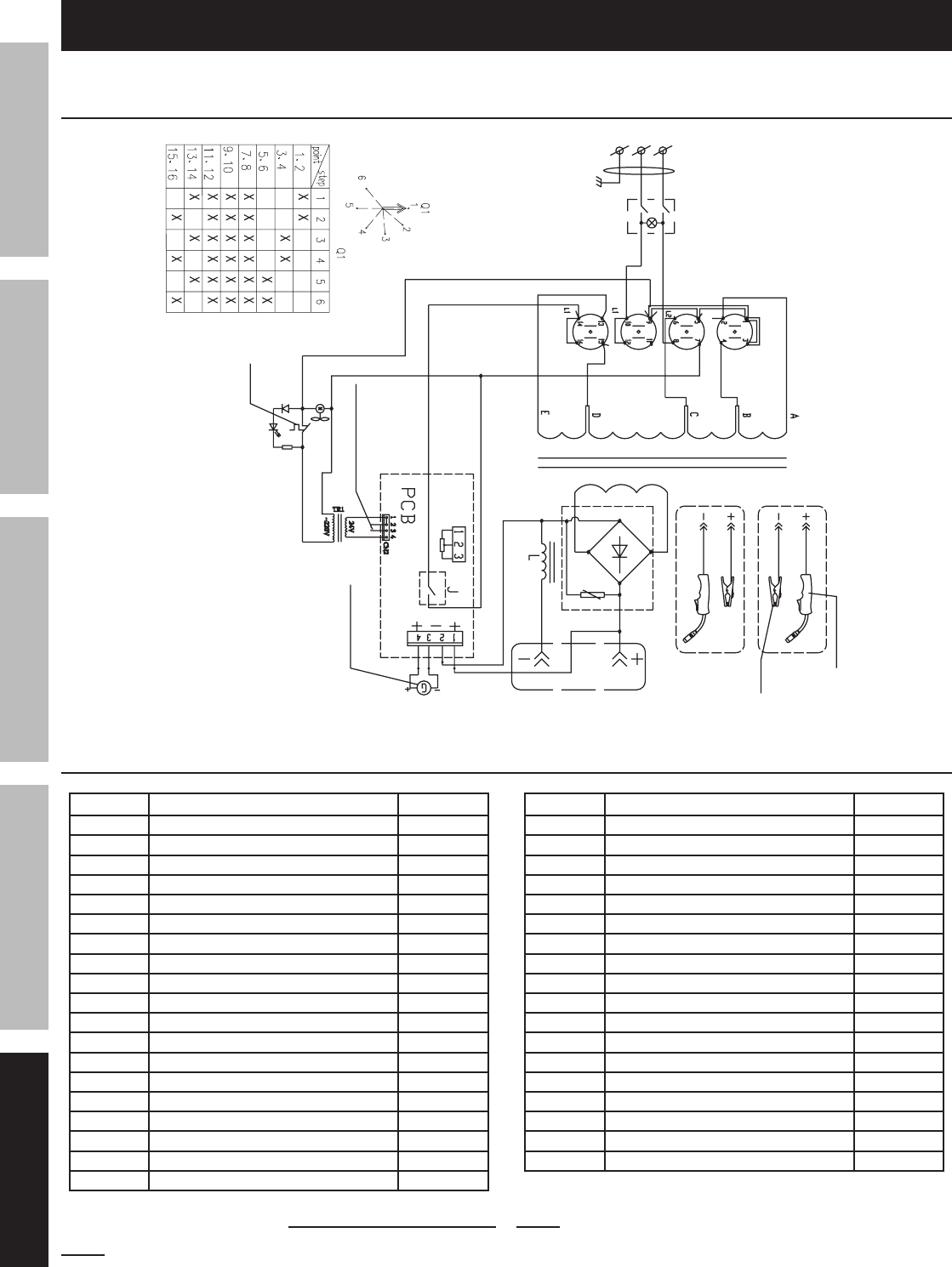 chicago electric generator wiring diagram wiring diagrams page 30 of chicago electric welder 68886 user
