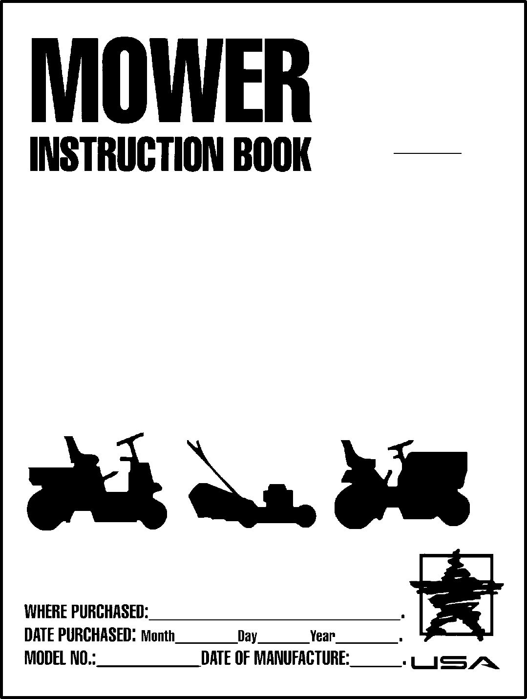Murray Lawn Mower 387002x92a User Guide