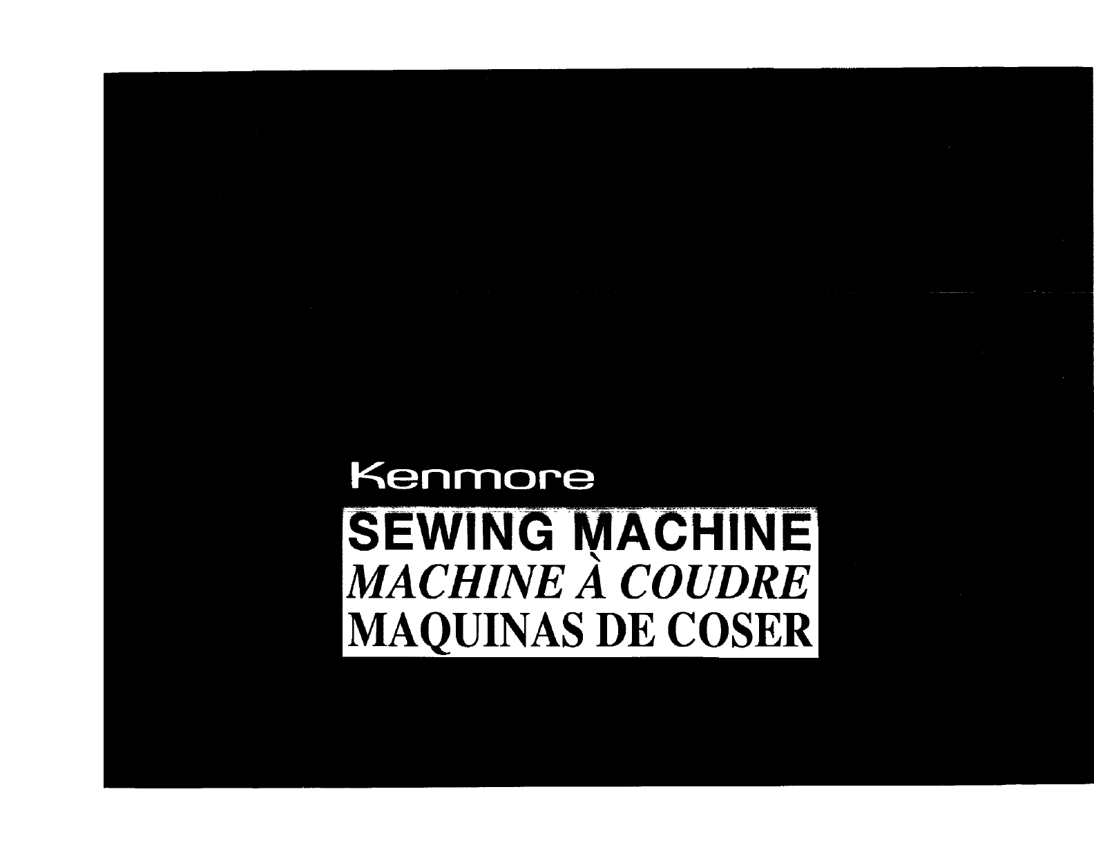 Kenmore Sewing Machine User Guide Manualsonlinecom Pedal Wiring Diagram Ewing Hin