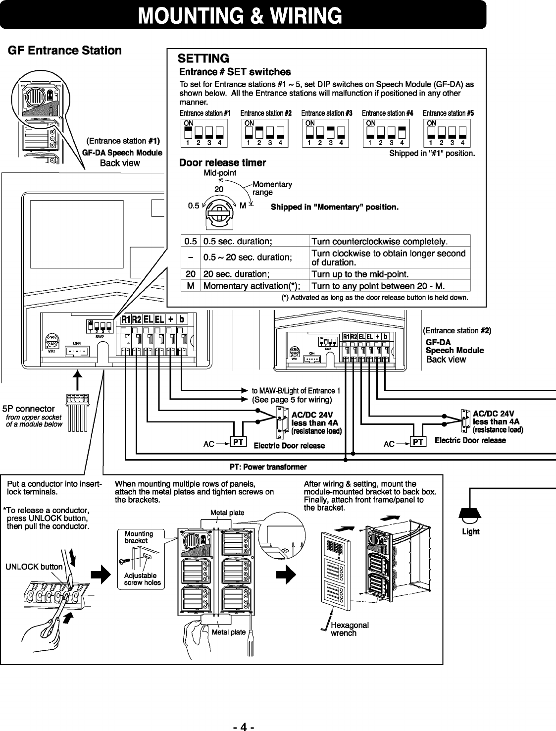 Beautiful Intercom Systems Wiring Diagram Adornment - Everything You ...