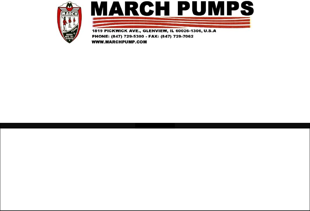 Electrical Water Pump Manuals 79