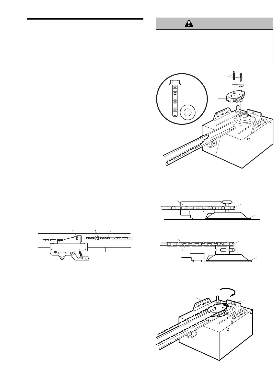page 10 of chamberlain garage door opener 1240r  4hp user guide